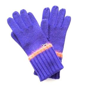 Brand New Juicy Couture Merino Lurex Gloves